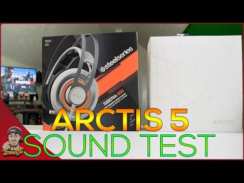 Steelseries - Sound Test - Arctis 5 Vs Siberia 650