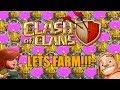 LETS FARM!! Clash of Clans TH9 Farming Stream