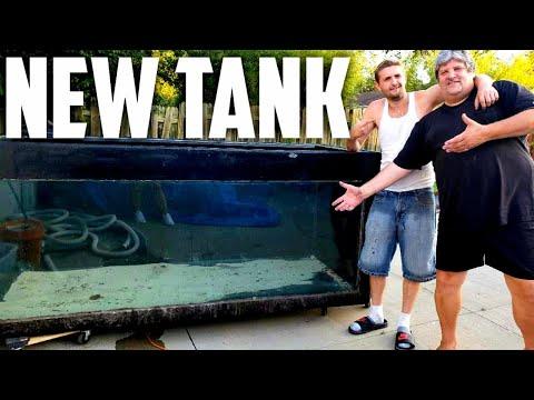 Huge Aquarium From Columbus Zoo, Big Tanks For Big Fish