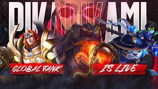 🔴Global Tanker | Pika | Mobile Legends : Bang Bang 2021-06-22
