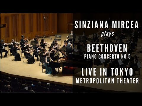 Sinziana Mircea plays Beethoven Concerto no. 5