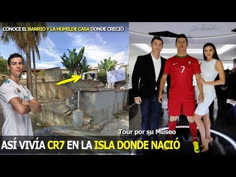 ASÍ ES LA ANTIGUA CASA DE CR7 SU BARRIO Y SU MUSEO EN LA ISLA DONDE NACIÓ