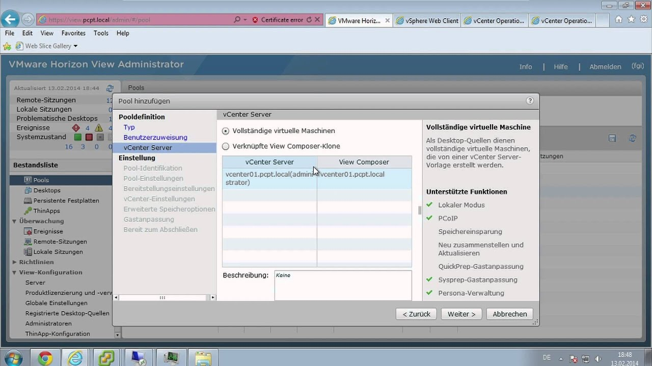 Was ist neu in VMware Horizon View 5.3 und Mirage 4.3? - Part 1 ...
