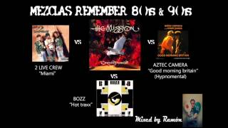MEZCLAS REMEMBER 80