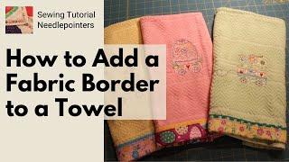 Decorative Fabric Towel Border