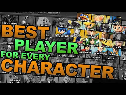 Best Player With Each Character In Smash Ultimate (#39 King Dedede - #56 Robin)