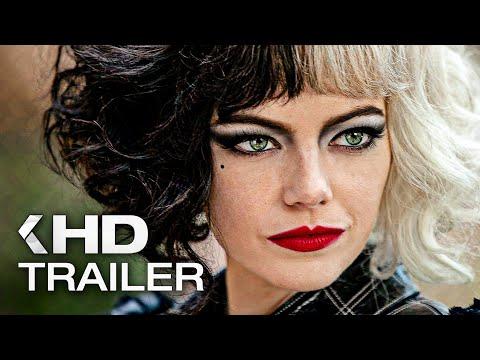 Movie review Cruella (2021) with Emma Stone and Emma Thompson Trailer