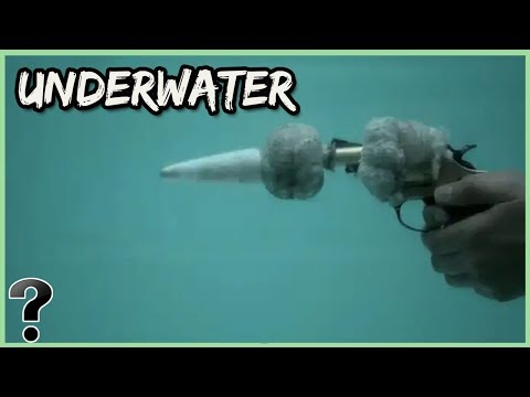 What Would Happen If You Shot A Gun Underwater?