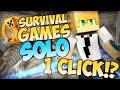 Minecraft Survival Games Solo - Game 1: One Click Win!