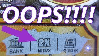 OOPS!! UNWANTED lottery ticket WAS a WINNER!!