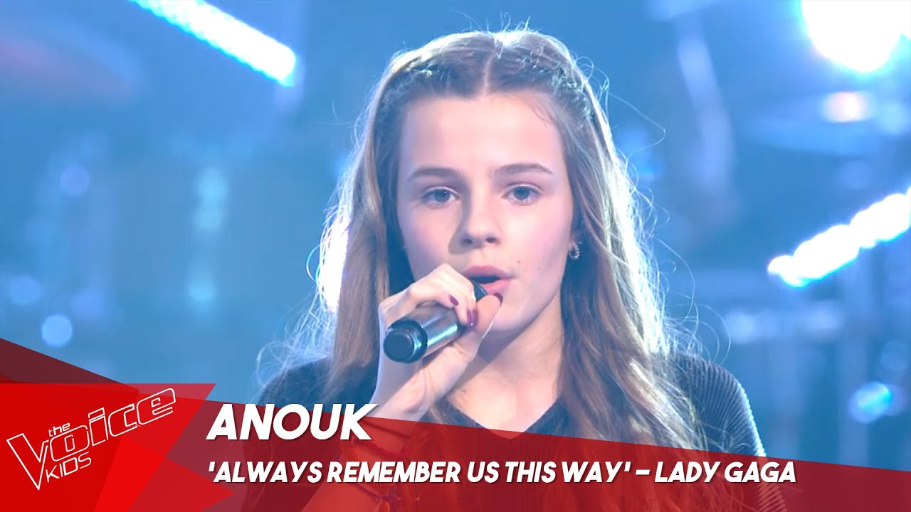 Anouk Always Remember Us This Way Sing Off The Voice Kids Belgique Youtube