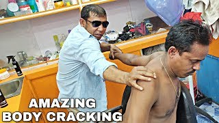 Download Relaxing Head & upper body massage by Asim barber | Loud cracking | ASMR Mp3 and Videos