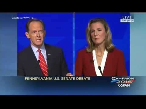 Pat Toomey Dismantles Katie McGinty's Hypocritical Attack