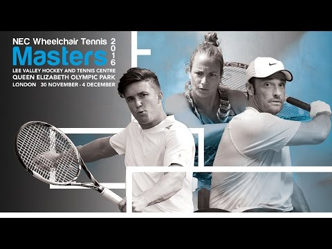 Wed 30 November, NEC Wheelchair Tennis Masters 2016