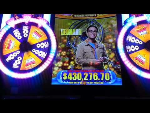 Big Bang Theory Slot Machine at Fandango Casino Nevada