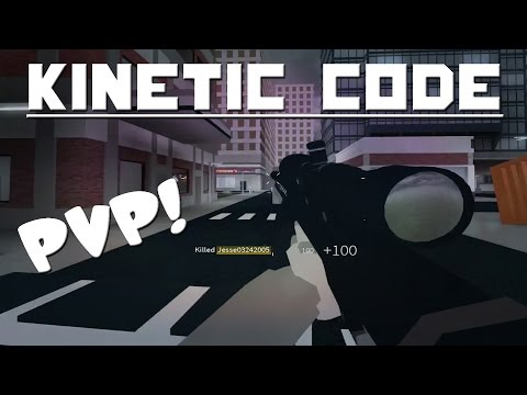 PVP Enabled! | ROBLOX: Kinetic Code (Pre-Alpha)