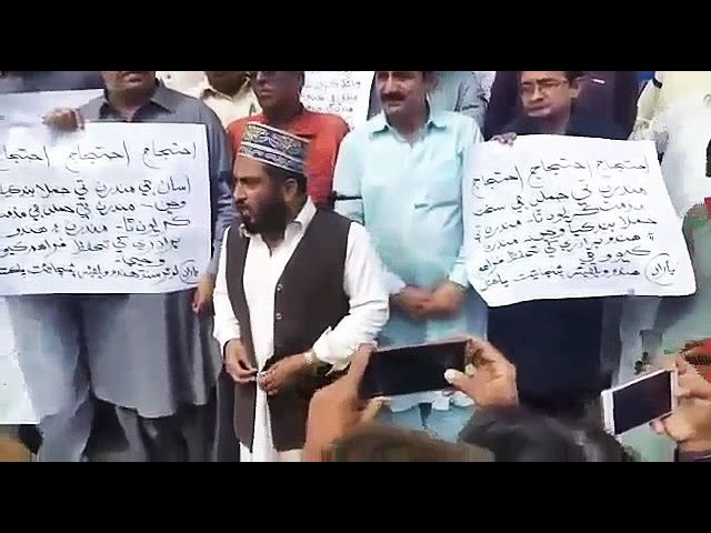 Muslims support Hindus in MirpurKhas (Pakistan).SINDHI