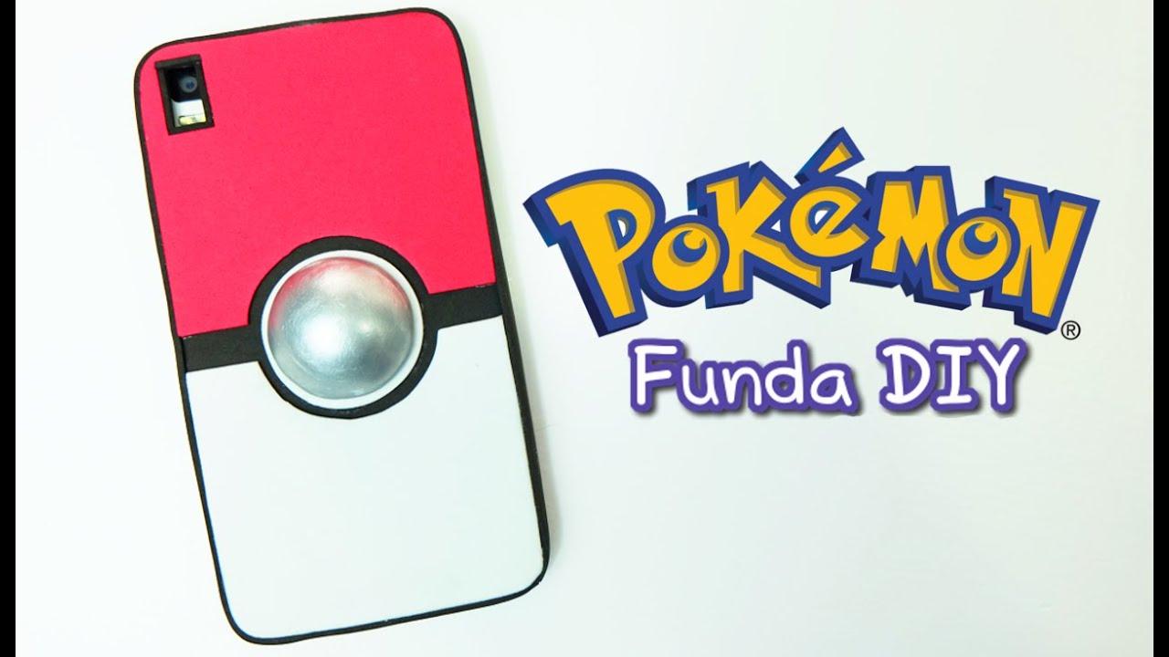 Funda para m vil o celular de pokemon funda pokeball - Como hacer fundas de silicon ...