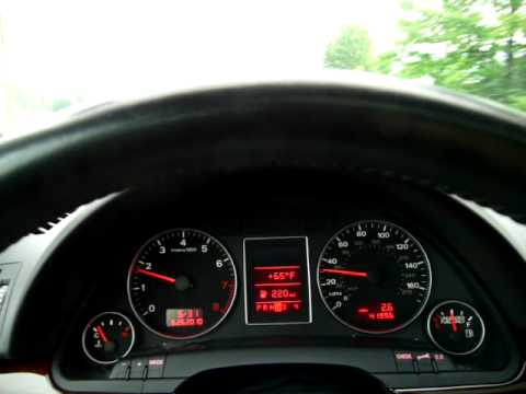 2006 Audi A4 2.0T Drive & 0-60 - YouTube
