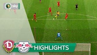 Dynamo Dresden - RB Leipzig 7:6 i.E. | Highlights DFB-Pokal 2016/17 - 1. Runde