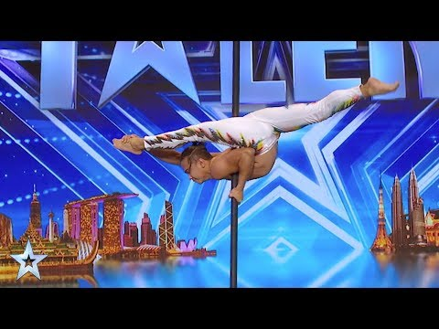 Ep 1: Jay Tjung Judges' Audition Highlights | Asia's Got Talent 2017