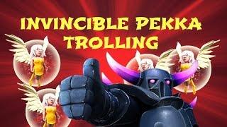 IMMORTAL PEKKA TROLLING - Clash of Clans - Using the Pekka Walk