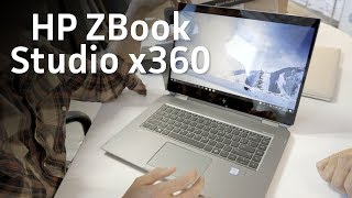 HP ZBook Studio X360 unboxing