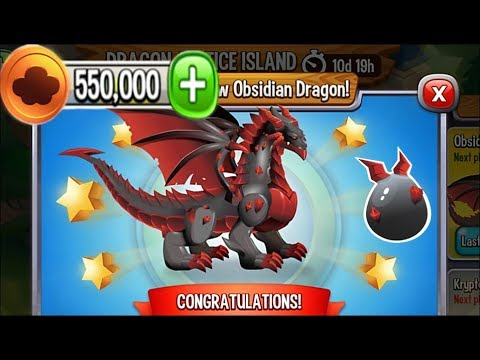 Dragon City - Obsidian Dragon [Dragon Justice Island | Completed 2017]