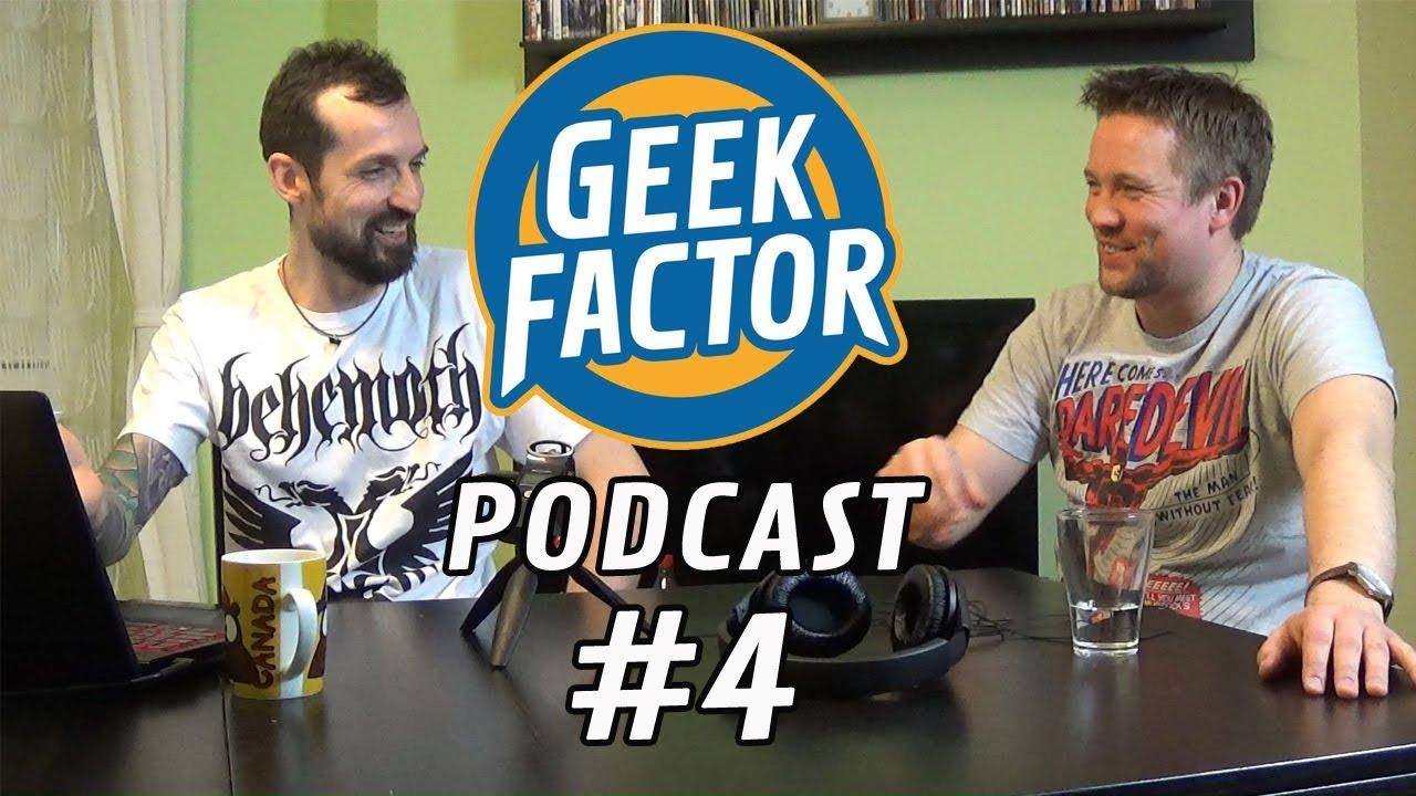 Geek Factor Podcast #4 – Ostatni Jedi i Podlizywanie się wydawnictwom [+16]