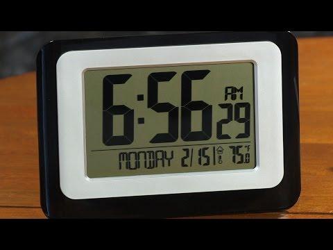 "LaCrosse Technology Digital ""Atomic"" Clock In-depth Review"