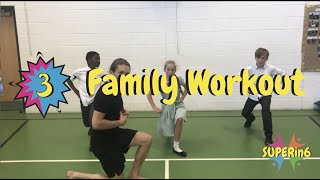 6 Minute Family Fun Workout