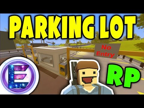 Unturned - Parking lot attendant | Why are the cars going missing? ( Unturned RP )