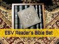 ESV Reader's Bible 6 Volume Set Cowhide Over Board Review