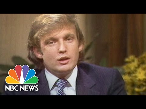 1980s how donald trump created donald trump nbc news youtube