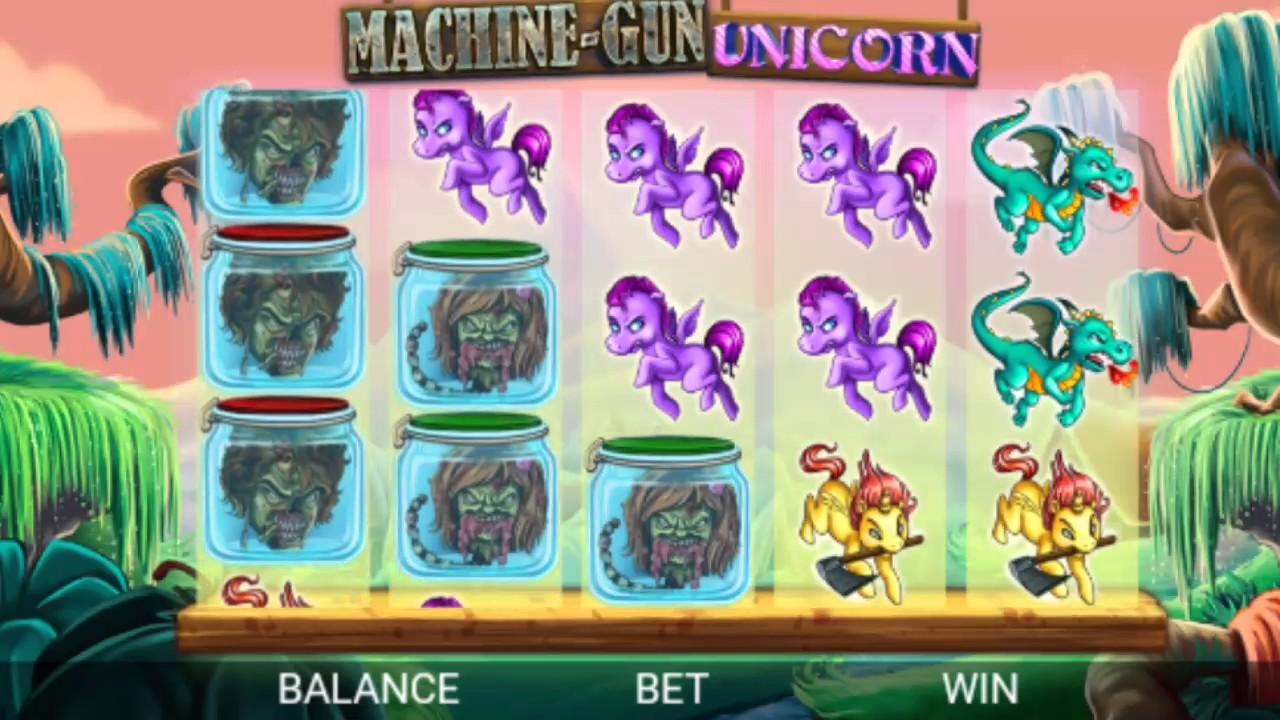 Machine Gun Unicorn Slot Machine