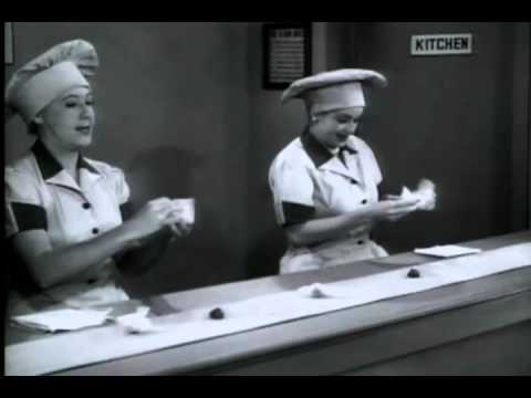 I Love Lucy Job Switching Recap Youtube