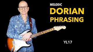 Dorian phrasing - melodic playing - YL17