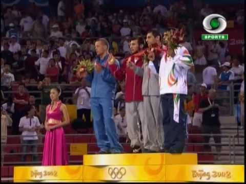Beiging 2008 - Wrestling - Sushil Kumar - Medal Ceremony