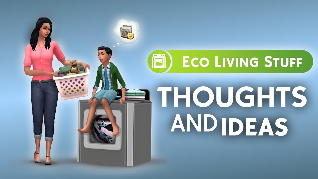 The Sims 4 | ECO LIVING STUFF PACK | IDEAS (Pt  2)