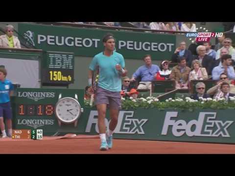 2014 Roland Garros 32F Nadal vs Thiem