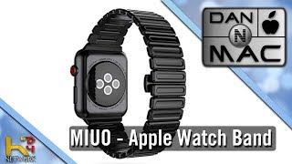 MIUO - Apple Watch Stainless Steel Band [Unboxing & Overview]