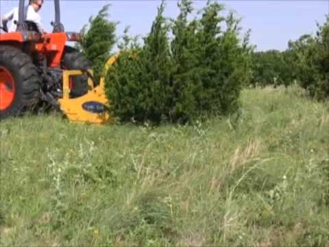 Fast Tree And Land Clearing With Disc Mulcher Funnydog Tv
