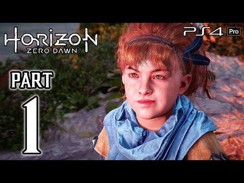 Horizon Zero Dawn Walkthrough PART 1 (PS4 Pro) No Commentary Gameplay @ 1080p HD ✔