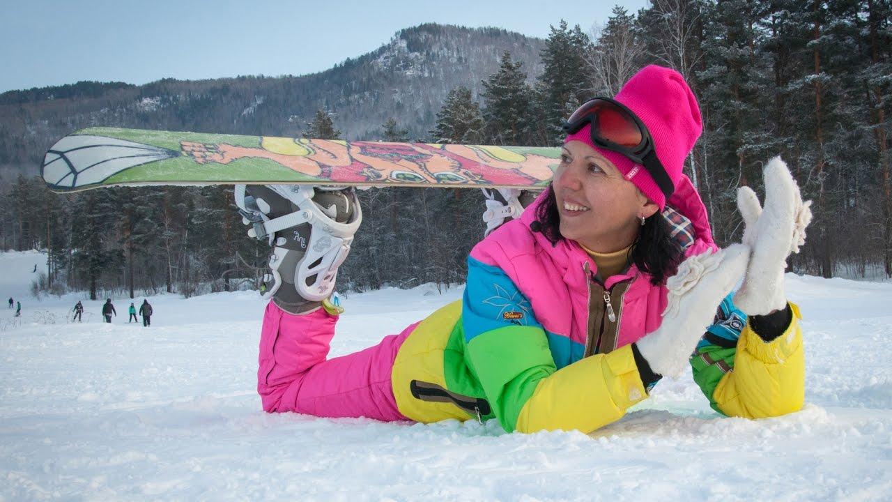 Горный Алтай зимой Манжерок снегоходы и сноуборды Новогодние каникулы на Алтае Mountain Altai