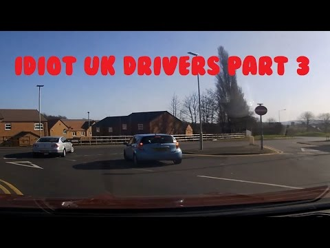 Idiot UK Drivers (West Midlands) Part 3 - Full Upload