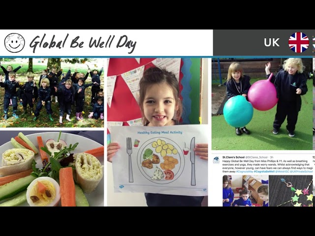 Lo mejor del Global Be Well Day 2020 - Cognita Chile