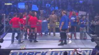 WWE Smackdown - Team Smackdown vs Team RAW