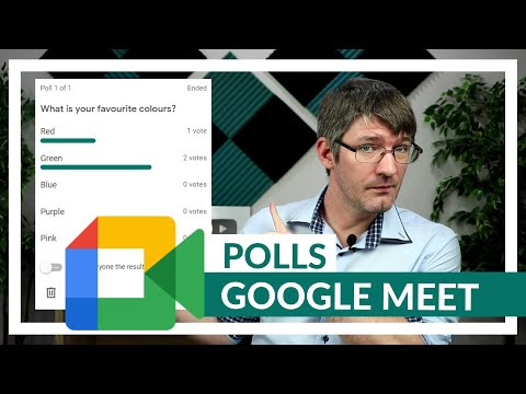 Polls in Google Meet