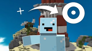 I played Hypixel Bedwars with the LARGEST CROSSHAIR...