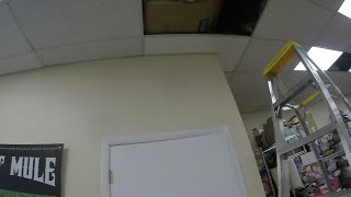 HOW TO REPLACE YOUR DROP IN CEILING TILE
